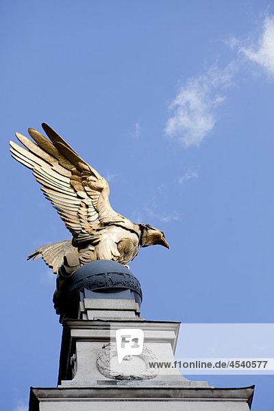 Royal Air Force Memorial  Victoria Damm  London