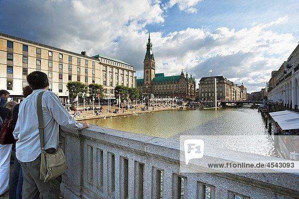 Town Hall of Hamburg  Germany