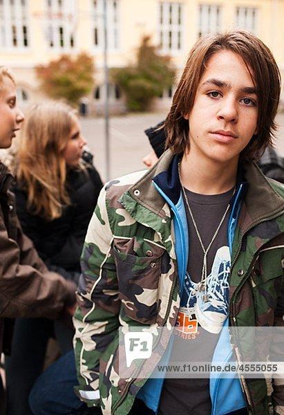Outdoor Portrait der Teenager