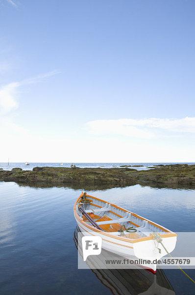 Ruderboot  Carnoustie  Angus  Schottland  U.K.
