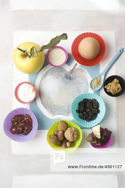 Sweet Mignardises  Mit Englischsprachigem Rezept Und Teil Eines Pakete