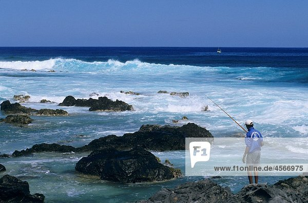 Pointe des aigrettes  Saint Gilles les bains  La Reunion island France  Indian Ocean