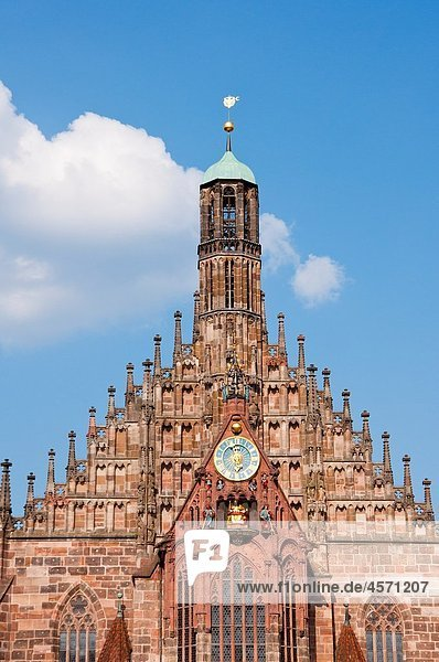 Frauenkirche Church of our lady  Nuremberg  Germany Frauenkirche Church of our lady, Nuremberg, Germany