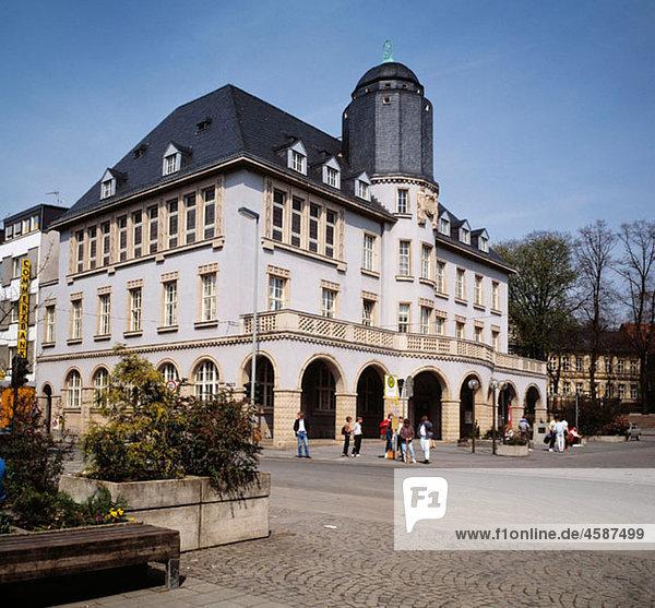 Germany  North Rhine-Westphalia  Menden  city hall
