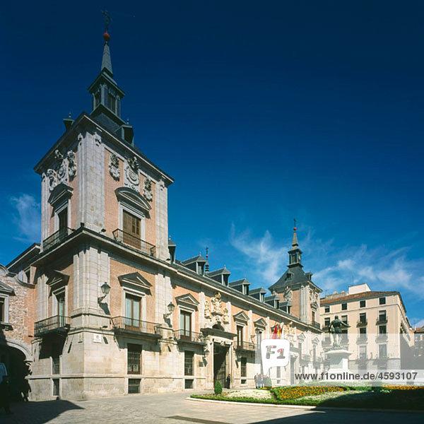 City Hall. Plaza de la Villa  Madrid  Spain