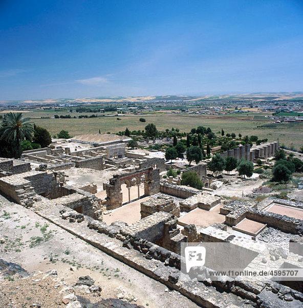 Moorish ruins of Medina Azahara  Cordoba  Spain