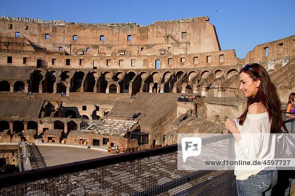 Colosseum  Rome. Lazio  Italy