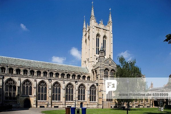 Bury St Edmonds  Cathedral  Suffolk  England.