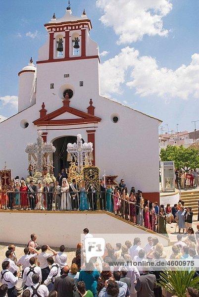Cruces de Mayo. Berrocal  Huelva  Andalusie  Spain.