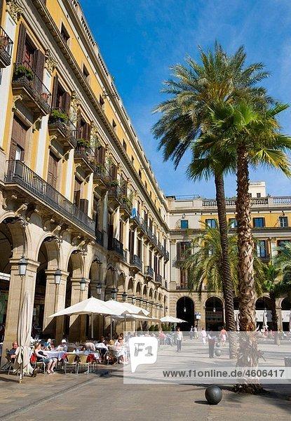 Spain  Catalunia Catalunya  Barcelona  Placa Reial