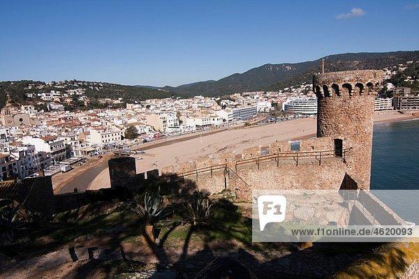 Tossa de Mar EspaÃ'a  Catalunya  provincia de Girona  la Selva  Tossa de Mar