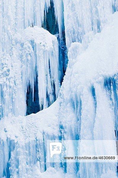Germany  Bavaria  Garmisch-Partenkirchen  View of ice icicles