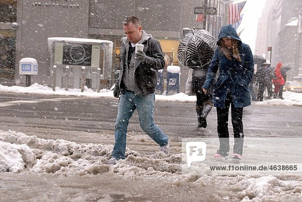 New York Winter Snow Storm  February 26  2010