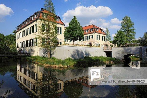 Germany  Gelsenkirchen  Ruhr area  North Rhine-Westphalia  Gelsenkirchen-Buer  Schloss Berge (Berge Castle)  hotel  restaurant