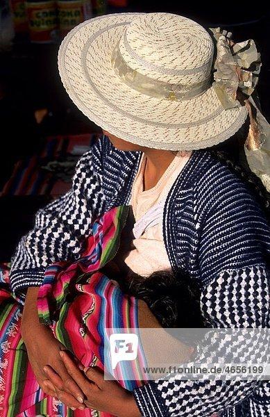 Virgin festival in Copacabana Departamento de la Paz Bolivia