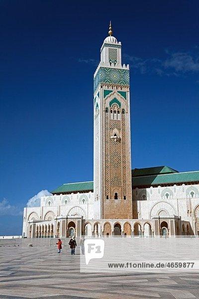 Morocco Casablanca (Dar el Beida) Hassan II Mosque
