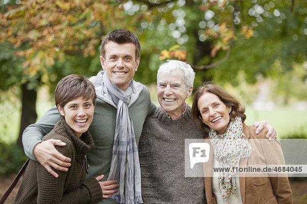 Familie im Park