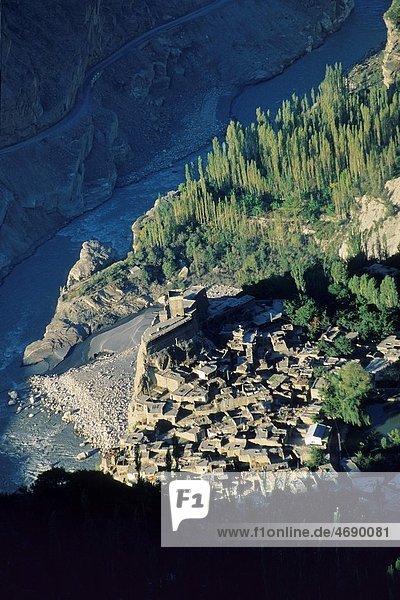 Pakistan  Hunza valley  Altit village.