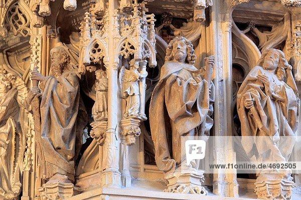 Pulpit 1486  Strasbourg Cathedral  Strasbourg  Alsace  France Pulpit 1486, Strasbourg Cathedral, Strasbourg, Alsace, France