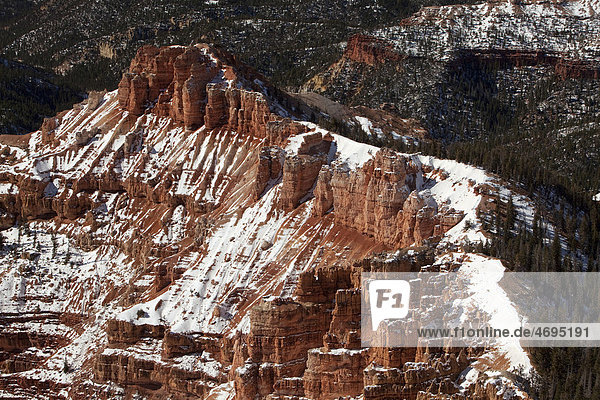 Cedar Breaks National Monument  Cedar City  Utah  USA  Amerika
