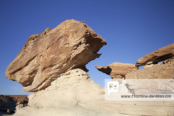 Felsformation am Stud Horse Point  Utah  USA  Amerika