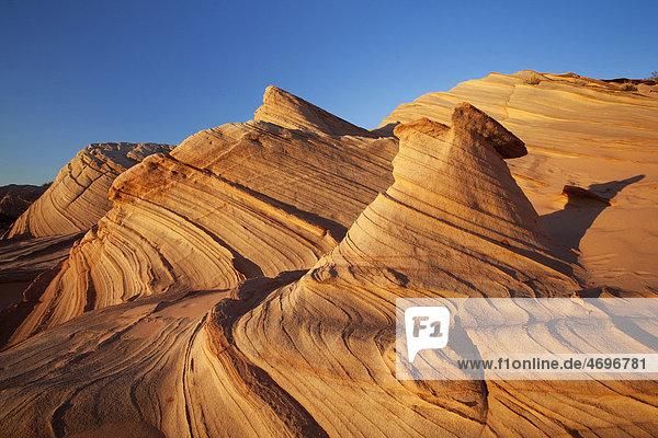 Water Holes Canyon Great Wall  Utah  USA