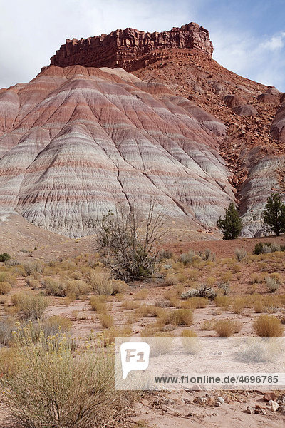 Badlands im Paria Movie Set  Utah  USA