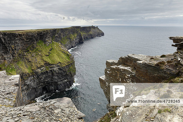 Hag's Head  Cliffs of Moher  County Clare  Republik Irland  Europa