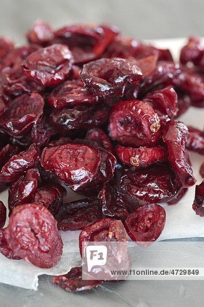 Getrocknete Cranberrys  Cranberries