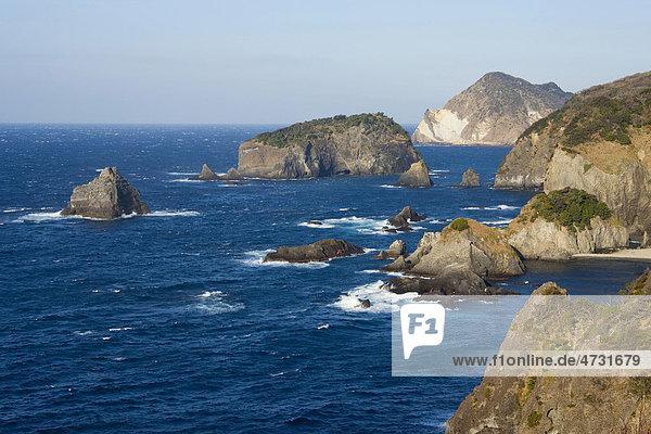 Küste  Shizuoka  Japan  Asien
