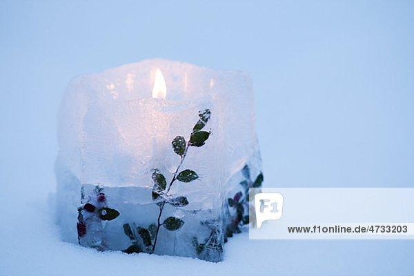 Eis Kerze