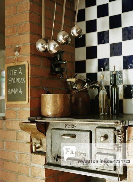 Holz Mode alt Ofen