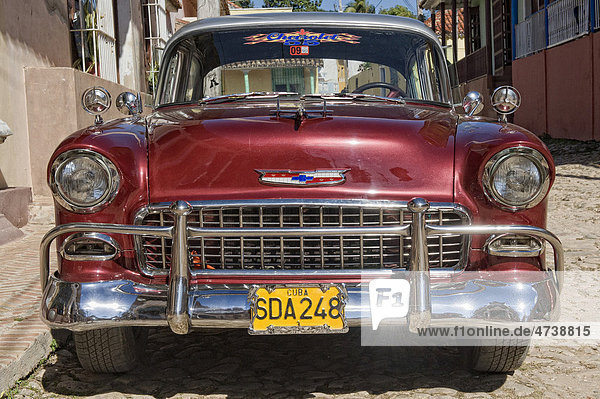 Oldtimer  Trinidad  Provinz Sancti Spiritus  Kuba  Zentralamerika