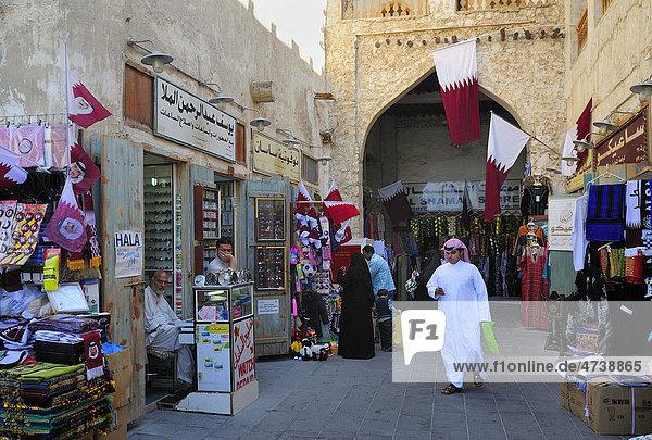 Souq Waqif  Doha  Katar  Naher Osten