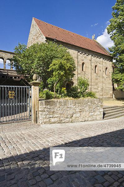 Pfalzkapelle  Bad Wimpfen  Neckartal  Baden-Württemberg  Deutschland  Europa