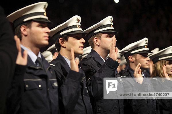 Vereidigung Polizei Nrw