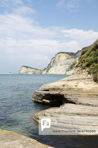Kap Drastis  Korfu  Griechenland  Europa