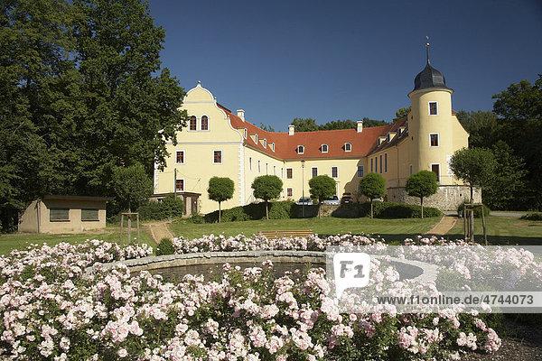 Wasserschloss Ebersbach  Gemeindeverwaltung  Landkreis Görlitz  Sachsen  Deutschland  Europa