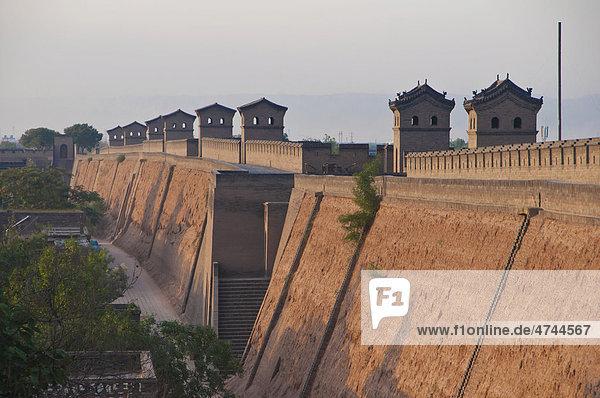 Historische Altstadt von Pingyao  Unesco Weltkulturerbe  Shanxi  China  Asien