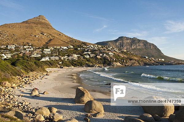 Die Bucht von Llandudno südlich von Kapstadt  Südafrika  Afrika