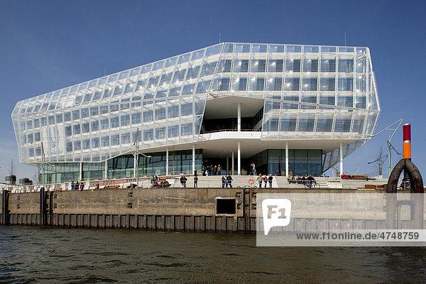 Geschäftsgebäude  Bürogebäude Unilever Haus  Hamburg  Deutschland  Europa
