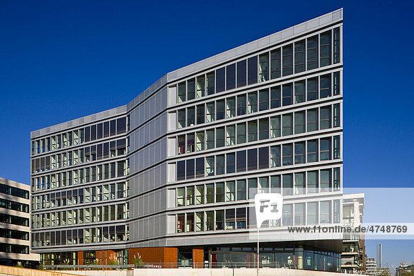 Bürogebäude Am Kaiserkai  Hafencity  Hamburg  Deutschland  Europa