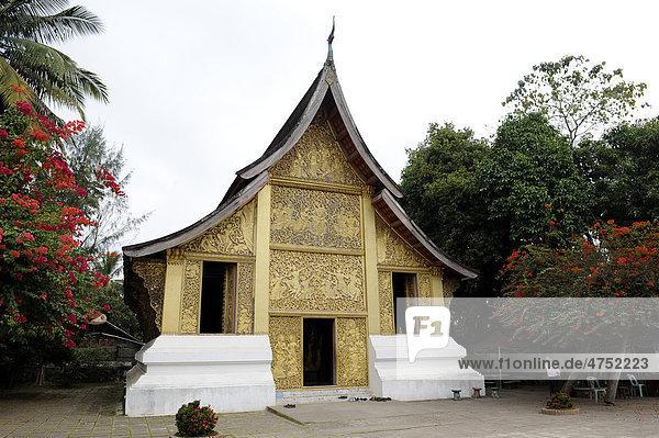 Tempel Wat Xieng Thong  Luang Prabang  Laos  Südostasien  Asien