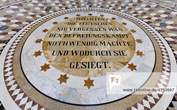 Befreiungshalle  erbaut von König Ludwig I. von Bayern  Kelheim  Niederbayern  Bayern  Deutschland  Europa