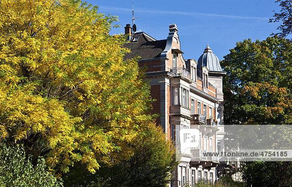 Altstadtvilla  Baden-Baden  Baden-Württemberg  Deutschland  Europa