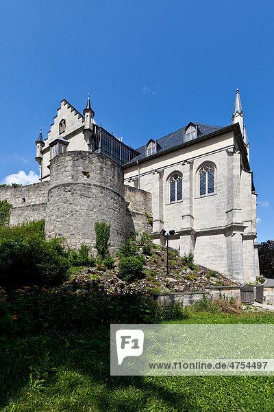 Schloss Callenberg  Jagdschloss und Sommerschloss der Herzöge von Sachsen-Coburg und Gotha  Coburg  Oberfranken  Bayern  Deutschland  Europa