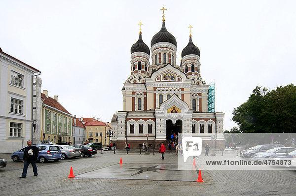 Alexander-Newski-Kathedrale  Tallinn  Estland  Baltikum  Europa