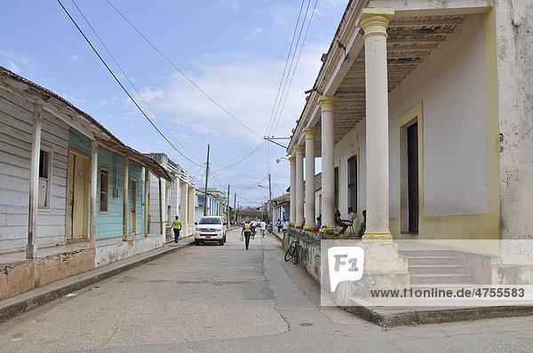Altstadt  Baracoa  Kuba  Karibik  Mittelamerika