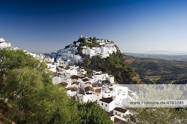 Casares  Costa del Sol  Andalusien  Spanien  Europa