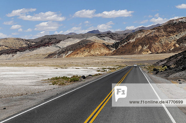 Route 178 in Death Valley  Death Valley National Park  California  USA  North America